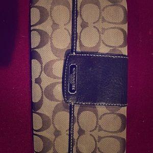 Coach classic wallet